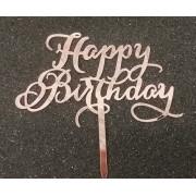 Happy birthday roze gold