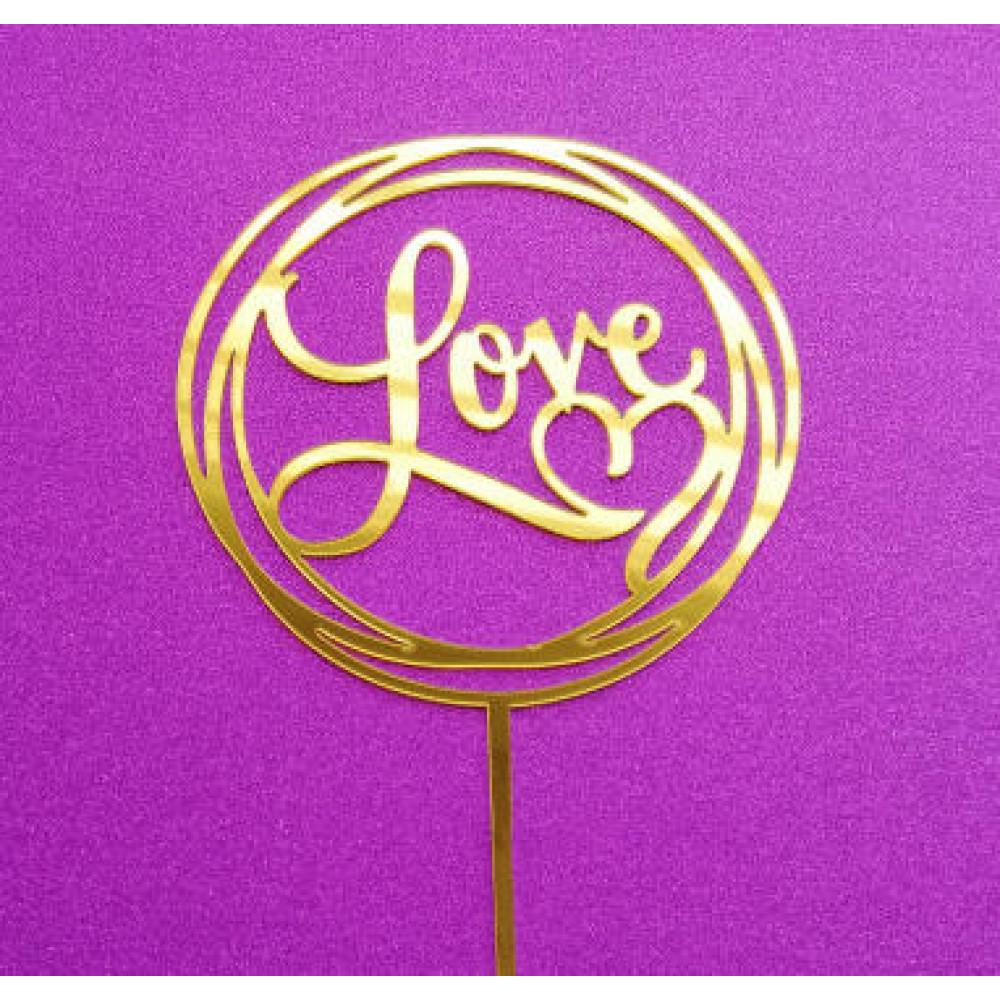 Love rond goud