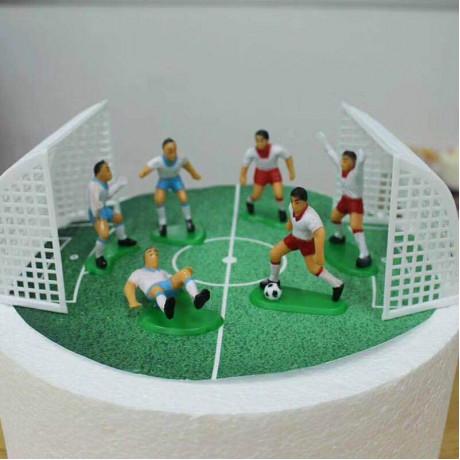 Voetbal doelen met 6 spelers